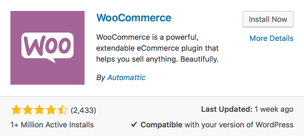 woocommerce, online store, wordpress plugin, business to consumer b2c, electronic commerce