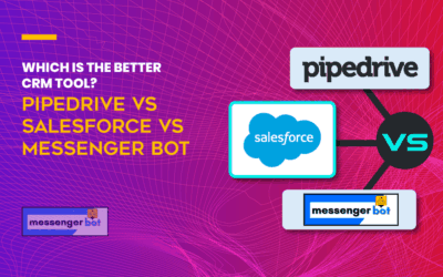 Which is the Better CRM Tool? Pipedrive vs Salesforce vs Messenger Bot