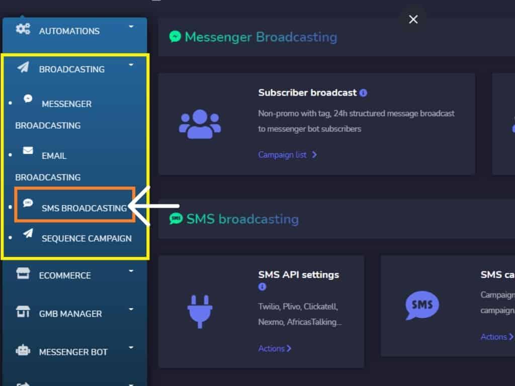 Messenger Bot SMS Gateway Integration Using Plivo 1