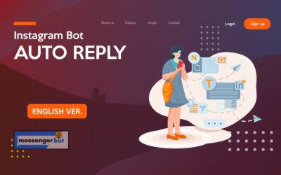 Instagram Bot Auto Reply – English Ver.